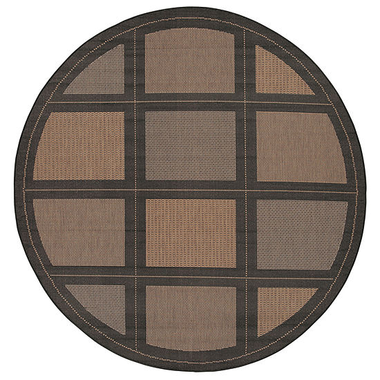 Couristan® Summit Indoor/Outdoor Round Rug