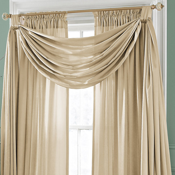 Royal Velvet® Hilton Big Scarf Valance