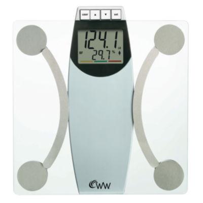 "Weight Watchers® 2"" LCD Glass Body Analysis Scale"
