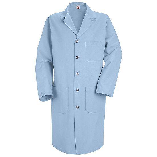 Red Kap® KP14 Five Button Front Mens Lab Coat