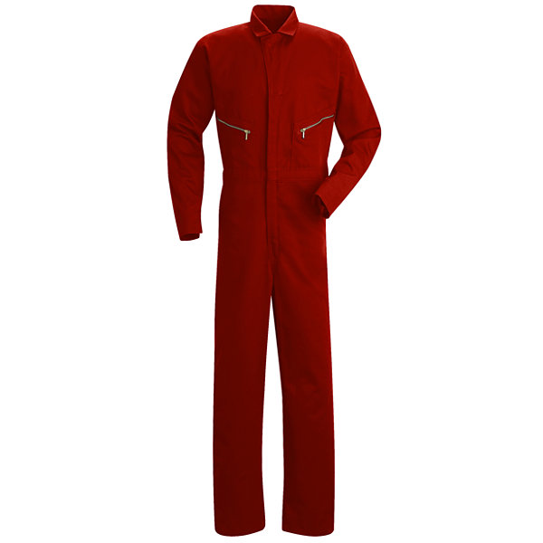 Red Kap® Zip-Front Cotton Coveralls