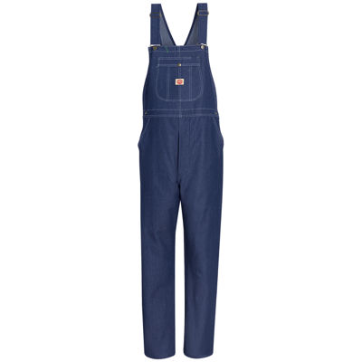 Red Kap® Denim Bib Coveralls