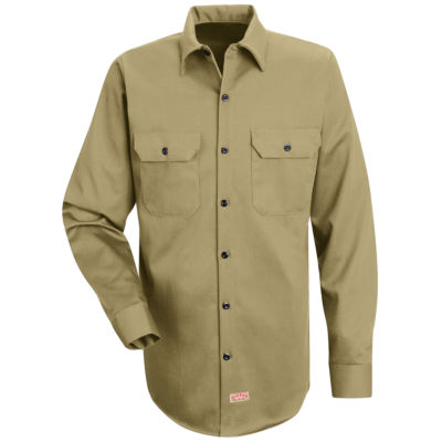 Red Kap® SC70 Deluxe Heavyweight Cotton Shirt–Big & Tall
