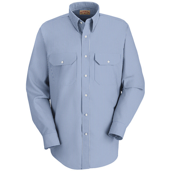 Red Kap Long Sleeve Deluxe Uniform Shirt