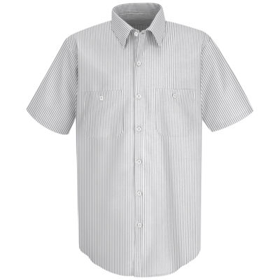 Red Kap SP20 Micro-Check Men's Uniform Shirt