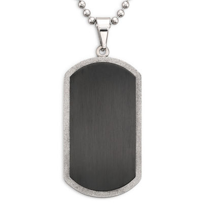 Men's Dog Tag Stainless Steel