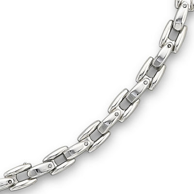 "Men's 24"" Link Necklace Stainless Steel"