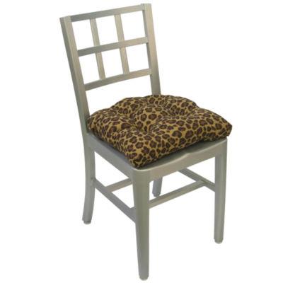 Klear Vu Leopard 2-Pack Universal Chair Cushions