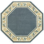 Verona Washable 5 Foot Octagonal Rug