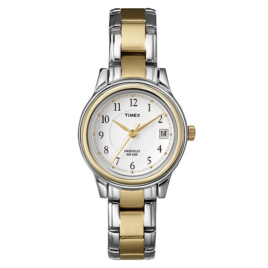 Timex Easy Reader Womens Two Tone Watch