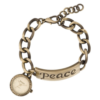 Decree® Peace Charm Bracelet Watch