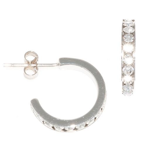 Silver Treasures Hoop Earrings