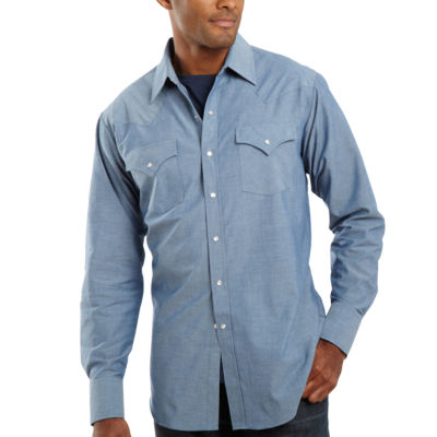 Ely Cattleman® Chambray Shirt-Big & Tall