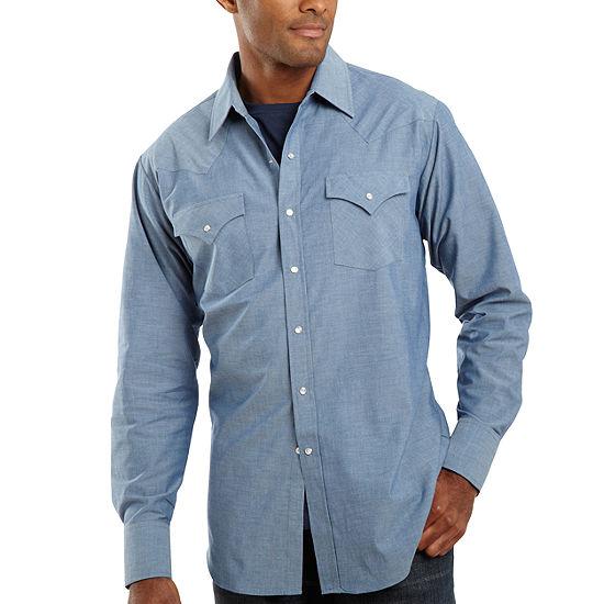 Ely Cattleman® Chambray Shirt-Big & Tall