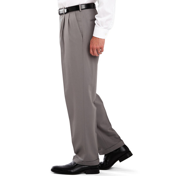 Haggar® Classic-Fit Pleated Dress Pants