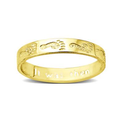 Footprints 10K Gold Ring