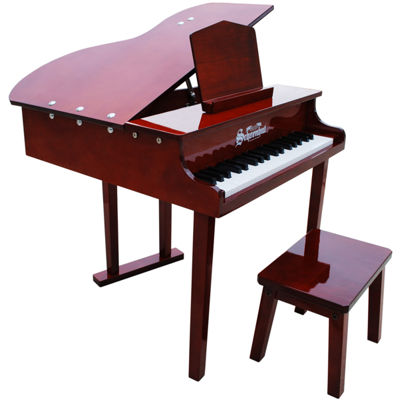 Schoenhut® Mahogany Baby Grand Toy Piano