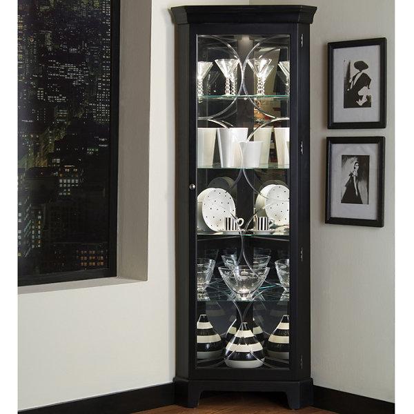 Cairo Corner Curio Cabinet
