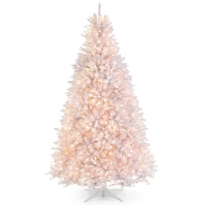 9' Pre-Lit White Alaskan Christmas Tree