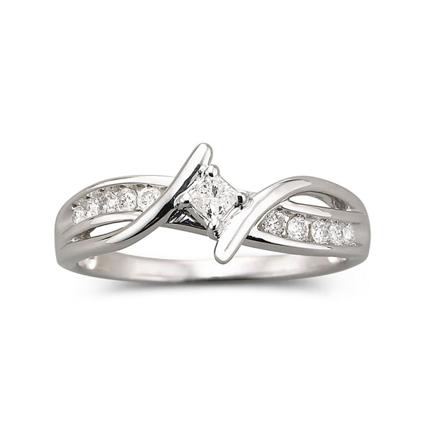 Promise My Love ¼ CT. T.W. Diamond Promise Ring