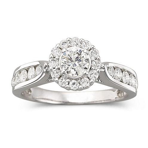 1 CT. T.W. Diamond Engagement Ring