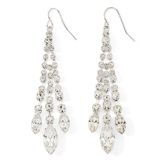 Vieste rhinestone chandelier earrings vieste rhinestone chandelier earrings aloadofball Images