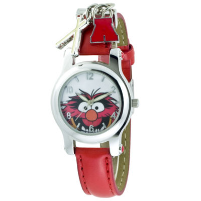 Muppets Animal Red Strap Charm Watch