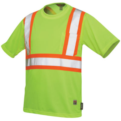 Work King High-Visibility Traffic T-Shirt–Big & Tall