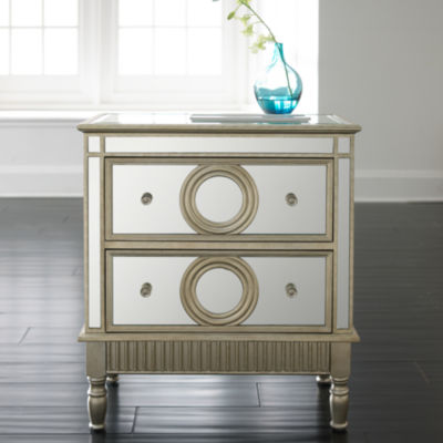 Cayleigh Mirrored Storage Chest