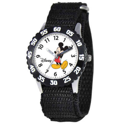 Disney Time Teacher Mickey Mouse Kids Black Watch