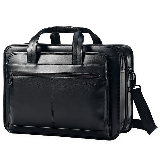 Samsonite® Leather Expandable Business Case