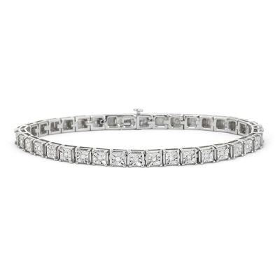 1/2 CT. T.W. Diamond Sterling Silver Tennis Bracelet