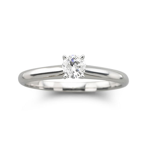 ¼ CT. Round Certified Diamond SolitaireRing