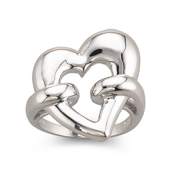 9baadaecd80f0 Sterling Silver Heart Ring