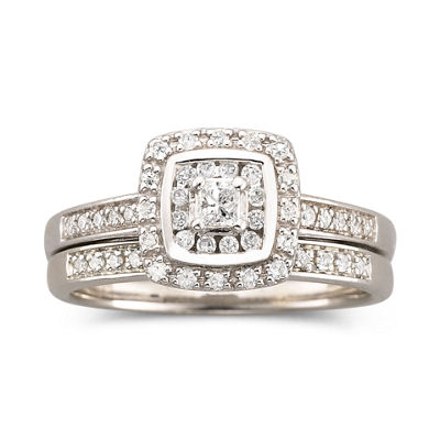 I Said Yes™ 3/8 CT. T.W. Certified Diamond Bridal Set