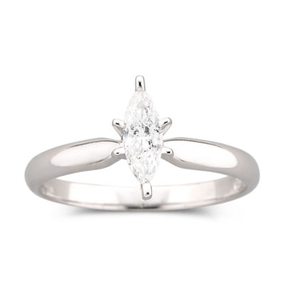 1/4 CT. Marquise Certified Diamond Ring