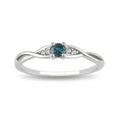 Blue Diamond, 1/7 CT. T.W. Ring