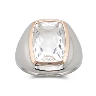 Bisou Bisou® Rose-Gold Quartz Ring
