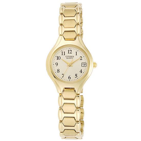 Citizen® Womens Gold-Tone Watch EU2252-56P