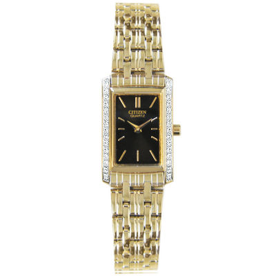 Citizen® Womens Gold-Tone Watch EK1122-50E