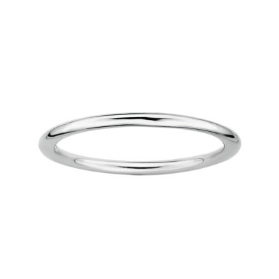 Personally Stackable Sterling Silver Ring