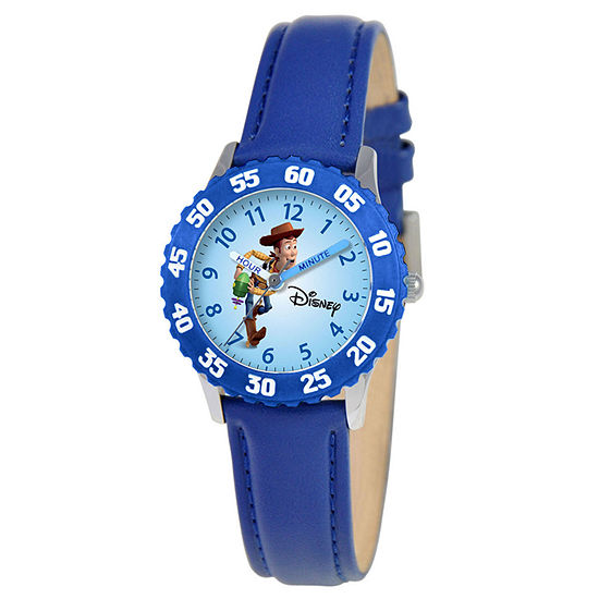 Time Teacher Toy Story Kids Blue Watch