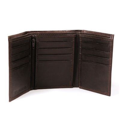 Personalized Tri-Fold Genuine Leather Wallet
