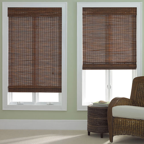 JCPenney Home Bamboo Roman Shade