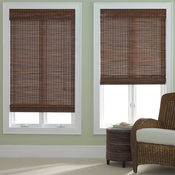 Jc Penneys Home Store: JCPenney Home Bamboo Woven Wood Roman Shade JCPenney