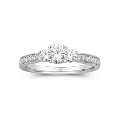 1 CT. T.W. 3-Stone Engagement Ring