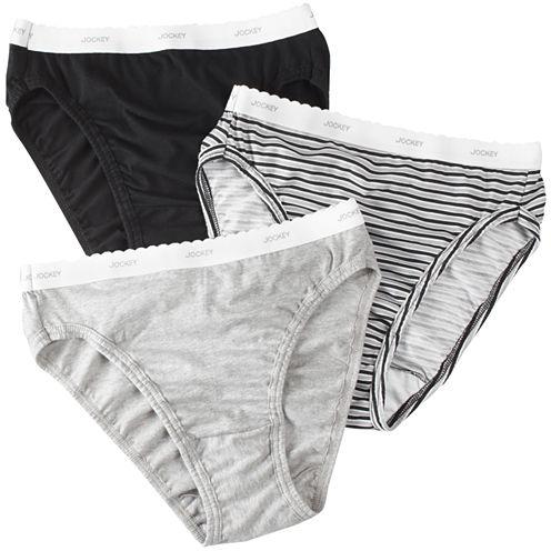 Jockey® Classic 3Pk French-Cut Panties - 9480