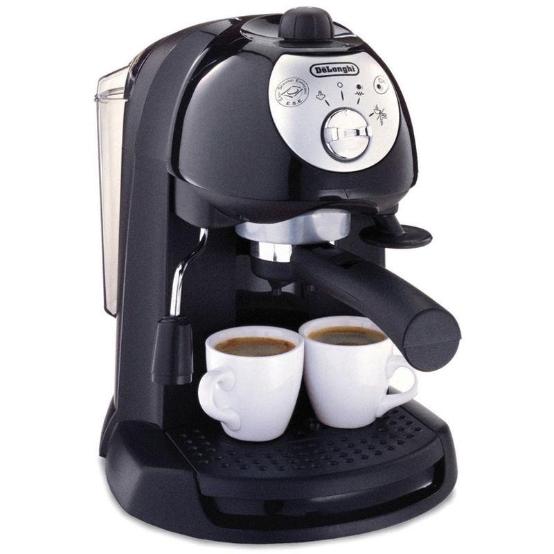 DeLonghi Retro Espresso Maker, Black - Unisex - Coffee + Tea - Espresso Machines