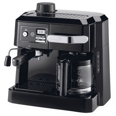 Delonghi® 15 Bar Combination Espresso & Drip Coffee Maker