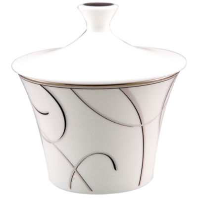 Nikko® Elegant Swirl China Sugar Bowl